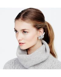 Club Monaco - Gray Radà Crystal Earrings - Lyst
