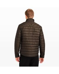 Club Monaco - Black Quilted Cpo Shirt for Men - Lyst