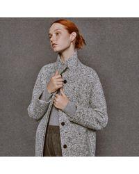 Club Monaco - Gray Ryder Rib-knit Sweater - Lyst