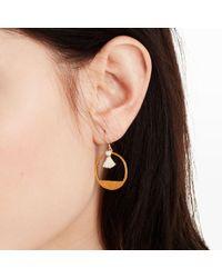 Club Monaco - Multicolor Moon Earring - Lyst