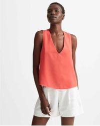 Club Monaco Multicolor Cochineal Normaah Top