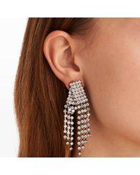 Club Monaco - Black Holiday Crystal Drop Earrings - Lyst