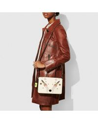COACH - Multicolor Dinky Crossbody 24 In Glovetanned Leather With Rocket Embellishment - Lyst