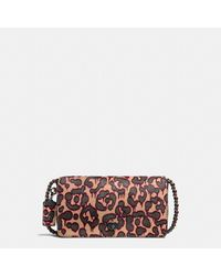 COACH | Multicolor Dinky In Printed Haircalf | Lyst
