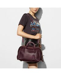 COACH - Multicolor Rogue Satchel In Glovetanned Pebble Leather - Lyst