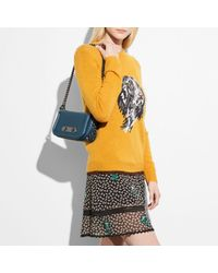 COACH Multicolor Swagger Shoulder Bag 20 In Glovetanned Leather With Willow Floral