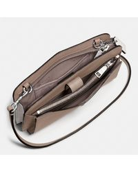 COACH Green Pop-up Messenger In Colorblock Leather
