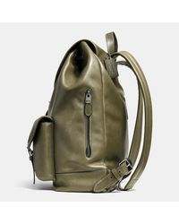 COACH - Brown Rucksack In Sport Calf Leather - Lyst
