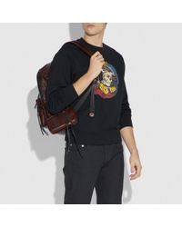 COACH Multicolor Pouch 9 With Whipstitch for men
