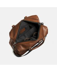 COACH - Brown Explorer Bag In Sport Calf Leather for Men - Lyst