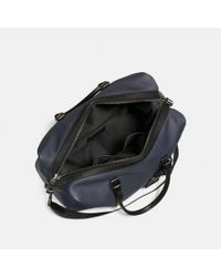 COACH - Black Explorer Bag - Lyst