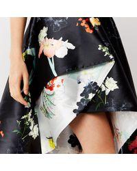Coast Black Kaempa Bandeau Printed Dress