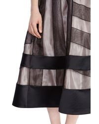 Coast - Gray Lulu Full Skirt - Lyst