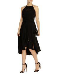 Coast - Black Francisco Belted Skirt - Lyst