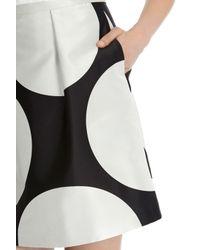 Coast - Black Gwendolyn Spot A-line Skirt - Lyst