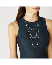 Coast | Metallic Harmen Multi Chain Necklace | Lyst