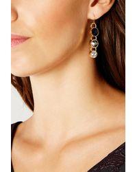 Coast - Metallic Floriella Earrings - Lyst