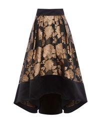 Coast Multicolor Gold Flower Rhian Skirt