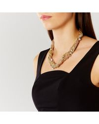 Coast | Metallic Thasos Twist Necklace | Lyst