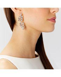 Coast | Metallic Ivy Longline Earrings | Lyst