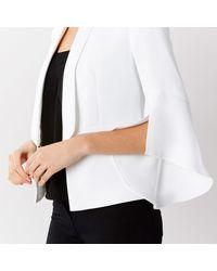 Coast - White Alba Tux Jacket - Lyst