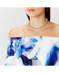 Coast - Metallic Elva Sparkle Ball Necklace - Lyst