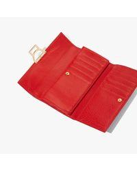 Arlettis Coquelicot Vitello Grana Naturale di Coccinelle in Red