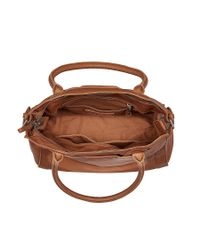 Liebeskind - Brown Glory Vintage Leather Tote Bag - Lyst