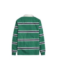 Joules Green Onside Classic Rugby Shirt for men