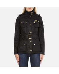 Barbour | Black Women's Ladies International Jacket | Lyst