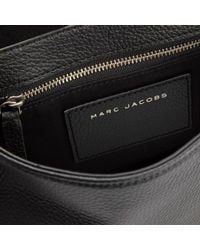 Marc Jacobs | Black Women's Grommet Small Nomad Saddle Bag | Lyst