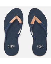 Ugg Blue Women's Magnolia Flip Flops