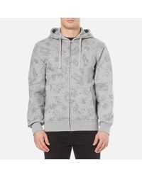 Billionaire Boys Club - Ice Cream | Gray Men's Galaxy All Over Print Zipped Hoody for Men | Lyst