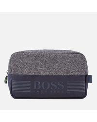 BOSS Green - Green Men's Pixel Medium Washbag for Men - Lyst
