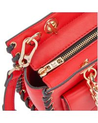 Karl Lagerfeld - Red Women's K/whipstitch Mini Tote Bag - Lyst