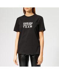 MSGM Black Dream Team T-shirt
