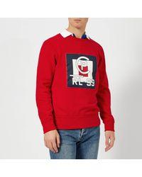Polo Ralph Lauren Red Regatta Logo Sweatshirt for men