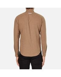 Folk - Multicolor Men's Button Down Long Sleeve Shirt for Men - Lyst