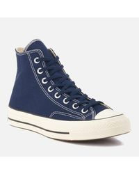 Converse - Blue Men's Chuck Taylor All Star '70 Hitop Trainers for Men - Lyst