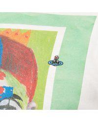 Vivienne Westwood Multicolor Peru Short Sleeve T-shirt for men