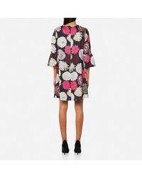 PS by Paul Smith Black Women's Dahlia Print Dress