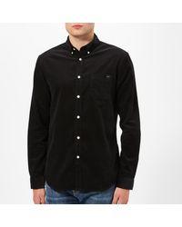 Edwin Black Babycord Standard Long Sleeve Shirt for men