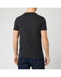 Polo Ralph Lauren Black Short Sleeve Crew Neck T-shirt for men