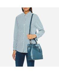 Furla - Blue Women's Stacy Small Drawstring Bag - Lyst