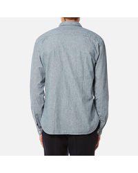 Oliver Spencer - Blue Men's Clerkenwell Tab Shirt for Men - Lyst