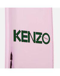 KENZO Pink Logo Passport Holder