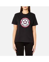 Maison Kitsuné Gray Women's Super Tshirt