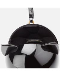 Lulu Guinness | Black Women's Kooky Cat Perspex Orb Clutch | Lyst