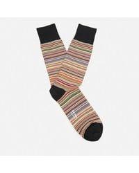 Paul Smith - Multicolor Men's Multi Stripe Socks for Men - Lyst