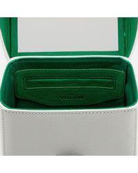 The Volon White Women's Box Alice Bag